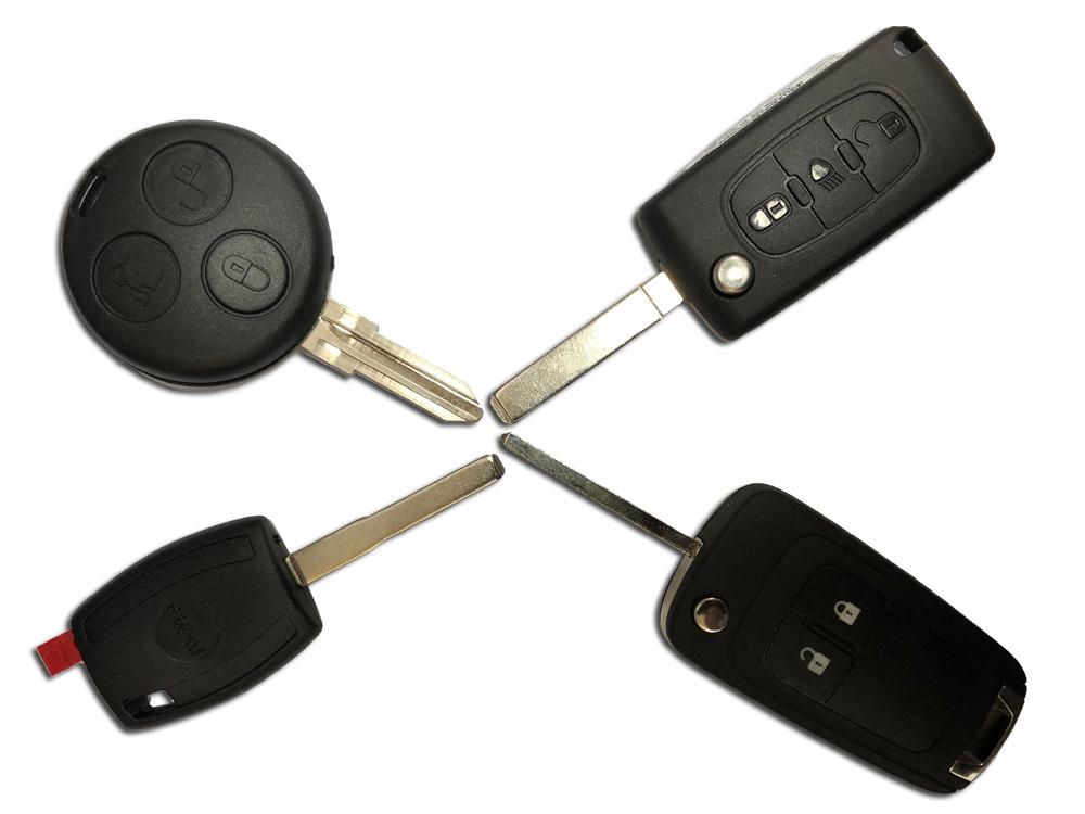 Car Keys & Fobs - Black Wolf Ltd